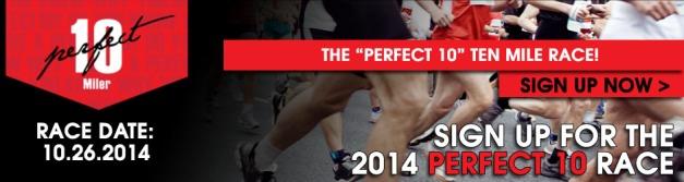 Perfect 10 women's running race